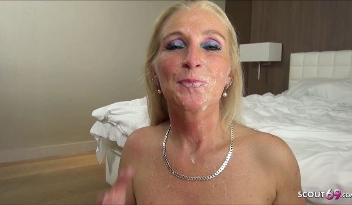 Cumshot - Milf Kacy Kisha In German Gang Fuck & Ample Mass Ejaculation Hump