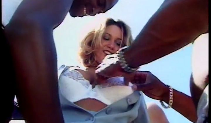 Christy Parks Interracial Gangbang