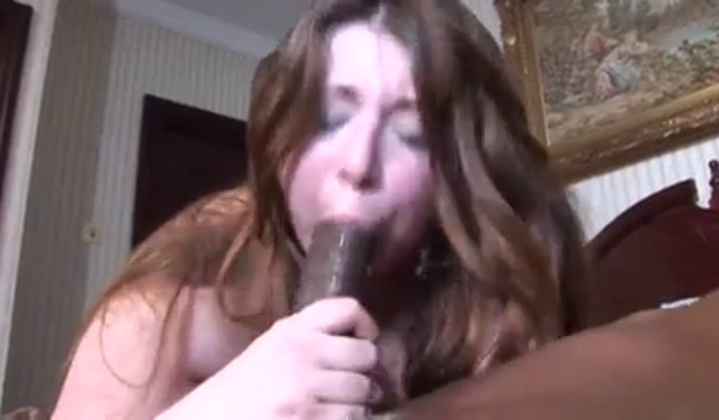 Big Dick - Estella Bathory In Big Black Cock Interracial