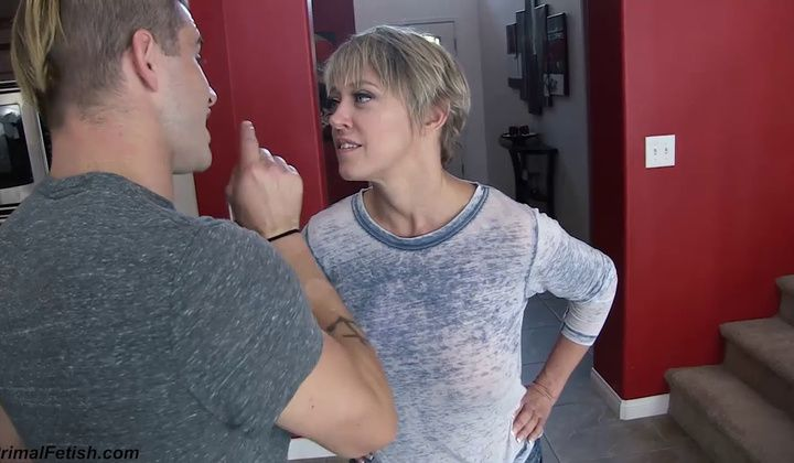 Masturbation - Son Gets His Way Mom Hot Blonde